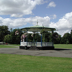 Band Stand in Royal Pump Room Gardens